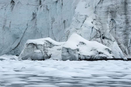 blanca: Pastoruri glacier in Cordillera Blanca, Northern Peru