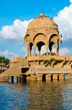 north gate: Gadi Sagar Gate, Jaisalmer, North India