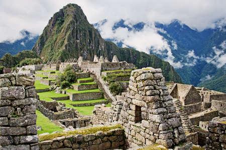 Machu Picchu au Pérou. Banque d'images - 53004386