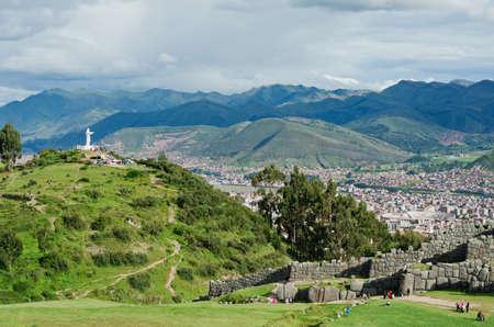 inca ruins: Sacsayhuaman - Inca ruins in Cusco, Peru