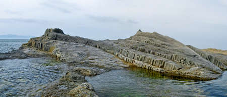 vulcanology: Cape Stolbchatyy, Kurily, island Kunashir, Russia