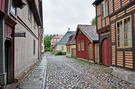 cultural history: OSLO, NORWAY - SEPT 20, 2014: The Norwegian Museum of Cultural History, Oslo.