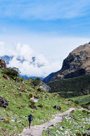 salkantay: trekking in mountains, Salkantay Trekking, Peru, South America