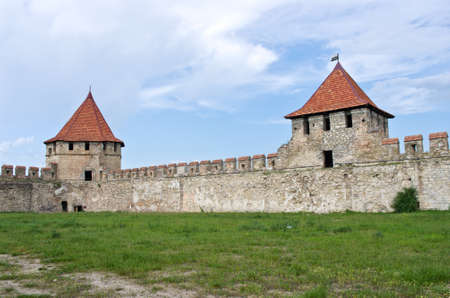 unrecognized: Old fortress on the river Dniester in town Bender, Transnistria. City within the borders of Moldova under of the control unrecognized Transnistria Republic Editorial