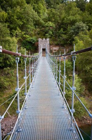 Bridge in Congost de Mont-rebei , Spain
