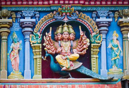 parvati: Relief of Menakshi Temple, Madurai  in the state of Tamil Nadu in India