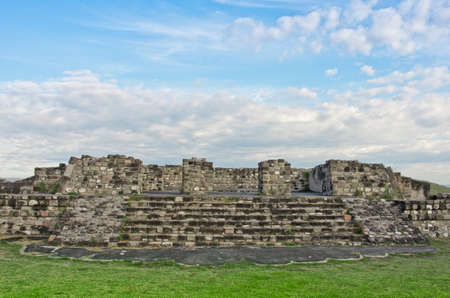 morelos: Pre-Columbian archaeological site of Xochicalco in Mexico
