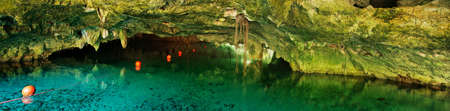 groundwater: Grand Cenote. This is one of the most famous cenotes in Mexico.