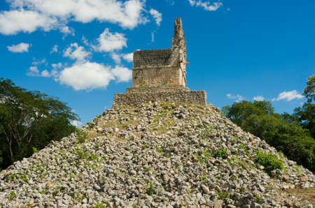 Labna a Mesoamerican archaeological site and ceremonial center of the pre-Columbian Maya civilization,  Yucatan Peninsula, Mexico. UNESCO World Heritage Site