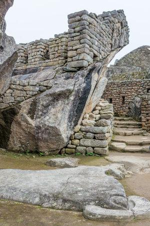 Machu Picchu in Peru. UNESCO World Heritage Site
