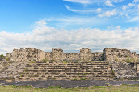 morelos: Pre-Columbian archaeological site of Xochicalco in Mexico.  UNESCO World Heritage Site