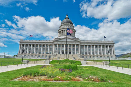 Utah State Capitol is the house of government for the U.S. state of Utah. USA Editorial
