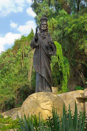 Cristo Rey Statue at La Villa de Guadalupe,  Mexico City