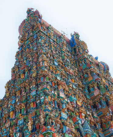Relief of Menakshi Temple, Madurai  in the state of Tamil Nadu in India