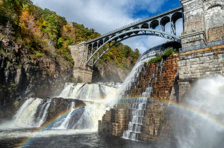 New Croton Dam, Croton-On-Hudson, Croton Gorge Park, NY, USA
