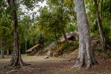 Dzibanche is an archaeological site of the ancient Maya civilization located in southern Quintana Roo, in the Yucatan Peninsula, Mexico.