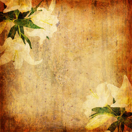 Grunge abstract background with wallpaper photo
