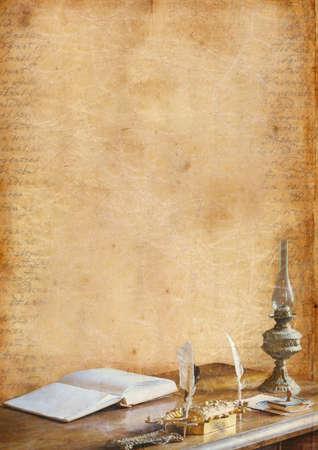 Romantic background Stock Photo