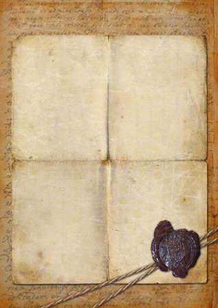 Ancient manuscript photo