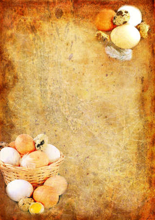 Easter vintage background photo