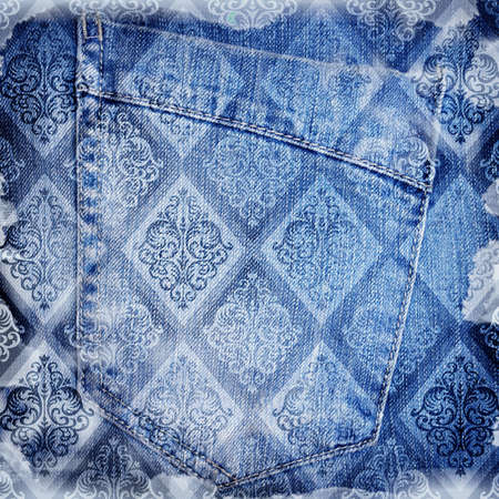 torn jeans: Abstract jeans backround
