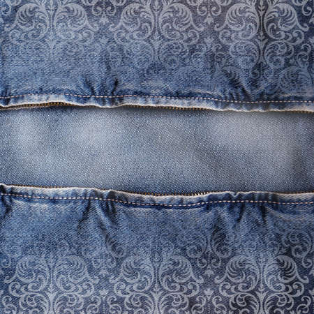 Abstract jeans backround photo