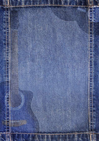 jeans texture: Abstract jeans backround