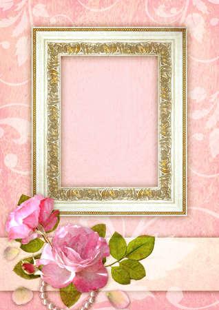 Romantic background Banque d'images