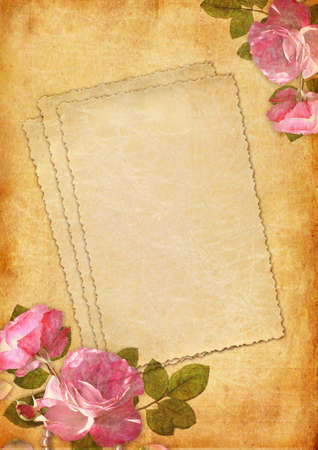 Romantic letter series photo