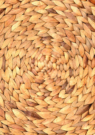woven round hand made background photo