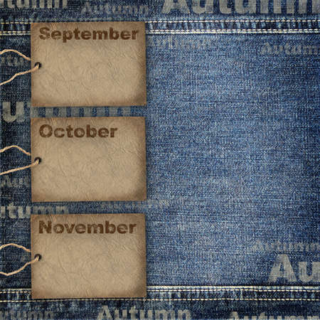 syllabus: Calendar planning background Stock Photo