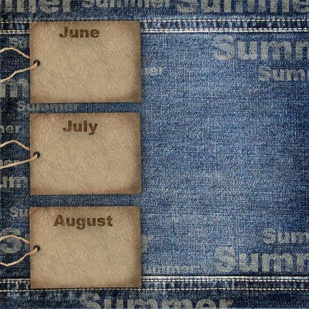 old quarter: Calendar planning background Stock Photo