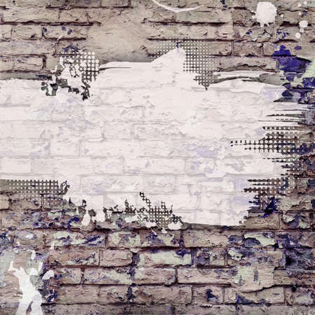 graffiti wall: Abstract grunge background black and gray