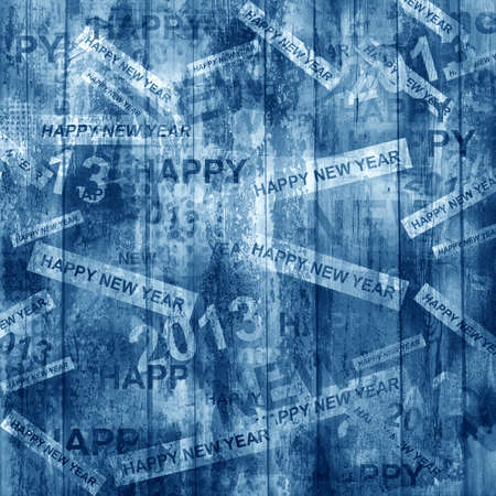 oldened: Happy new year abstract background