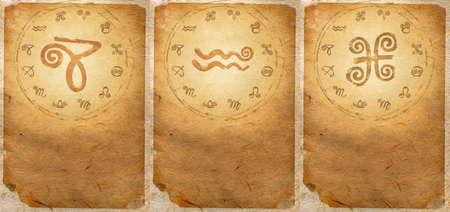 Zodiac series  Capricorn, Aquarius, Pisces