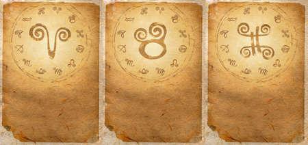 Zodiac series  Aries, Taurus, Gemini