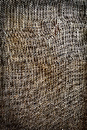 Background texture vintage burlap with tear photo