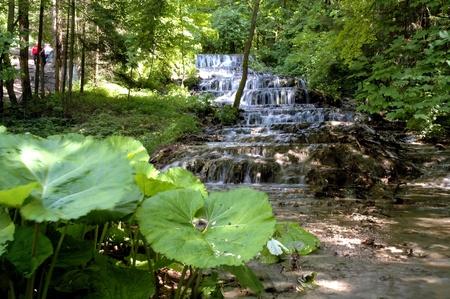 Veil Waterfall in the Szalajka Valley