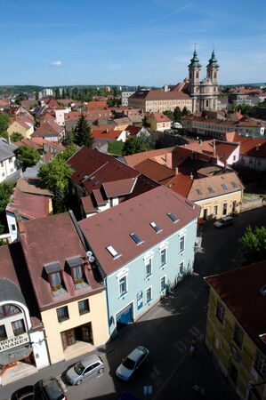 View of Eger Stock Photo - 8534991
