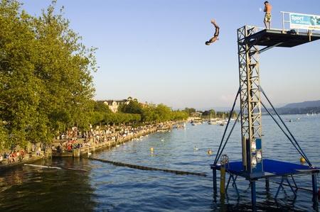 Jump into Zurichsee