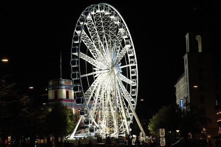 ferriswheel: Ferris-wheel in Copenhagen