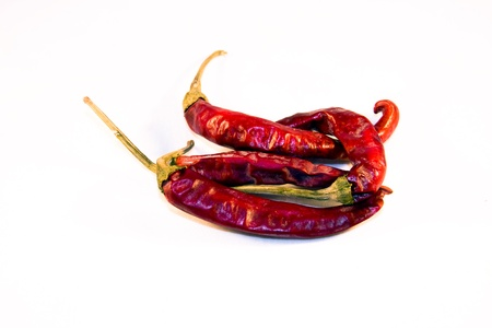 Magyar  Hungarian  paprika - dried red peppers Stock Photo - 18650057
