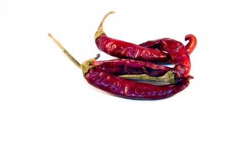 Magyar  Hungarian  paprika - dried red peppers Stock Photo - 18650056