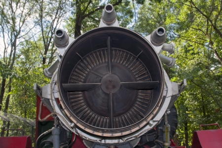 jet engine, which is used toextinguish oil well fire