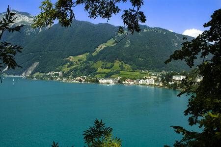 schweiz: Vierwaldstattersee in Switzerland