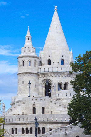 fisherman bastion: The Fisherman Bastion in Budapest