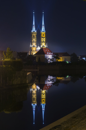 st john: Cathedral of St. John the Baptist (Katedra sw. Jana Chrzciciela) in Wroclaw, Poland