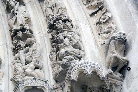 Gate of Notre Dame Cathedral