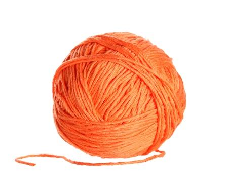 ball of cotton Stock Photo