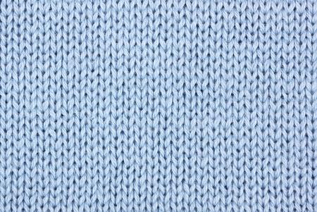 woolen fabric: materiales de punto de algod�n azul como fondo Foto de archivo